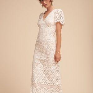 BHLDN Tadashi Shoji Minuet Wedding Gown Size 2 NEW